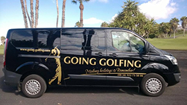 Going Golfing Holidays Executive Transfer Car
