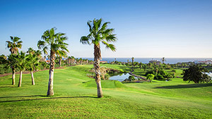 Image of the golf course Golf del Sur on the Canary Islands