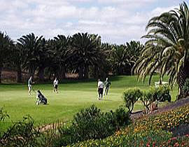 Image of the golf course Costa Teguise on the Canary Islands