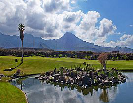 Image of the golf course Golf los Lagos on the Canary Islands