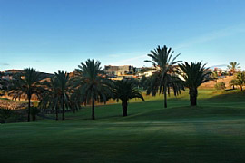 Image of the golf course Salobre the Old Course on the Canary Islands