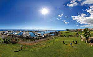Image of the golf course Amarilla Golf on the Canary Islands