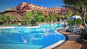 Image of the golf holiday Sheraton la Caleta in the Canary Islands